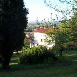 la maison et son parc