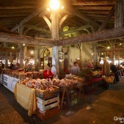 le marché sous la halle