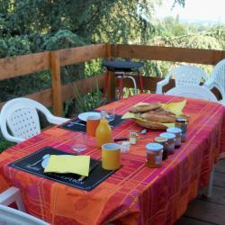 terrasse p'tit dejeuner